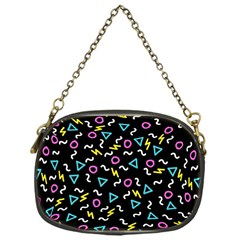Retro Wave 3 Chain Purses (one Side)  by jumpercat