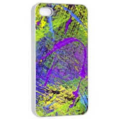 Ink Splash 02 Apple Iphone 4/4s Seamless Case (white) by jumpercat