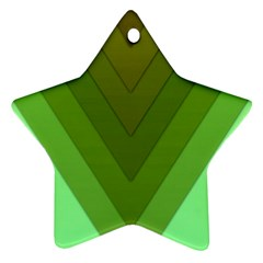 Tri 03 Star Ornament (two Sides)