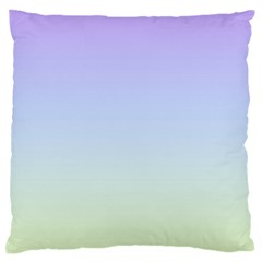 Vanilla Gradient Large Flano Cushion Case (two Sides)