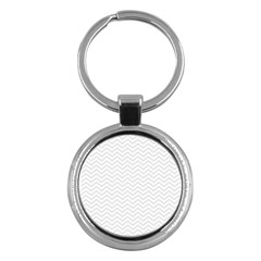 Light Chevron Key Chains (round)  by jumpercat