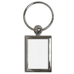Light Chevron Key Chains (rectangle)  by jumpercat
