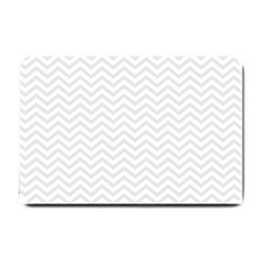 Light Chevron Small Doormat