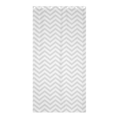 Light Chevron Shower Curtain 36  X 72  (stall)  by jumpercat