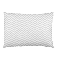 Light Chevron Pillow Case (two Sides) by jumpercat