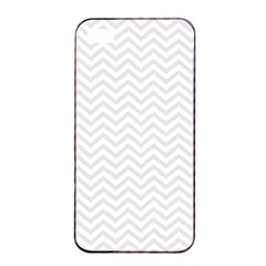 Light Chevron Apple Iphone 4/4s Seamless Case (black) by jumpercat