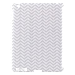 Light Chevron Apple Ipad 3/4 Hardshell Case (compatible With Smart Cover) by jumpercat