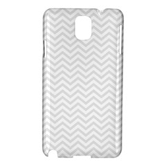 Light Chevron Samsung Galaxy Note 3 N9005 Hardshell Case by jumpercat