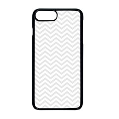 Light Chevron Apple Iphone 8 Plus Seamless Case (black) by jumpercat