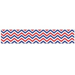 Navy Chevron Large Flano Scarf  by jumpercat