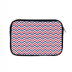 Navy Chevron Apple Macbook Pro 15  Zipper Case by jumpercat