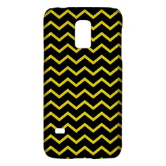 Yellow Chevron Galaxy S5 Mini by jumpercat