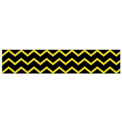 Yellow Chevron Small Flano Scarf by jumpercat