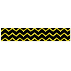 Yellow Chevron Large Flano Scarf  by jumpercat