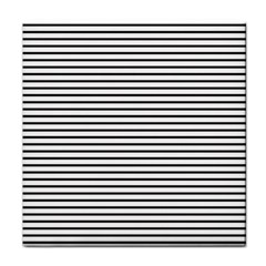 Basic Horizontal Stripes Face Towel by jumpercat