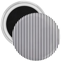 Basic Vertical Stripes 3  Magnets by jumpercat