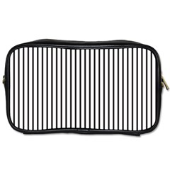 Basic Vertical Stripes Toiletries Bags by jumpercat