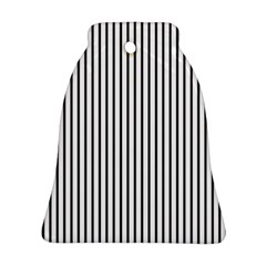 Basic Vertical Stripes Ornament (bell)