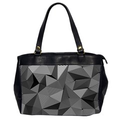 Geometric Doodle Office Handbags (2 Sides)  by jumpercat