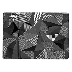 Geometric Doodle Samsung Galaxy Tab 10 1  P7500 Flip Case by jumpercat