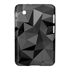 Geometric Doodle Samsung Galaxy Tab 2 (7 ) P3100 Hardshell Case  by jumpercat