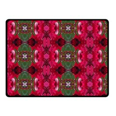 Christmas Colors Wrapping Paper Design Fleece Blanket (small) by Fractalsandkaleidoscopes