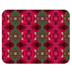 Christmas Colors Wrapping Paper Design Double Sided Flano Blanket (medium)  by Fractalsandkaleidoscopes