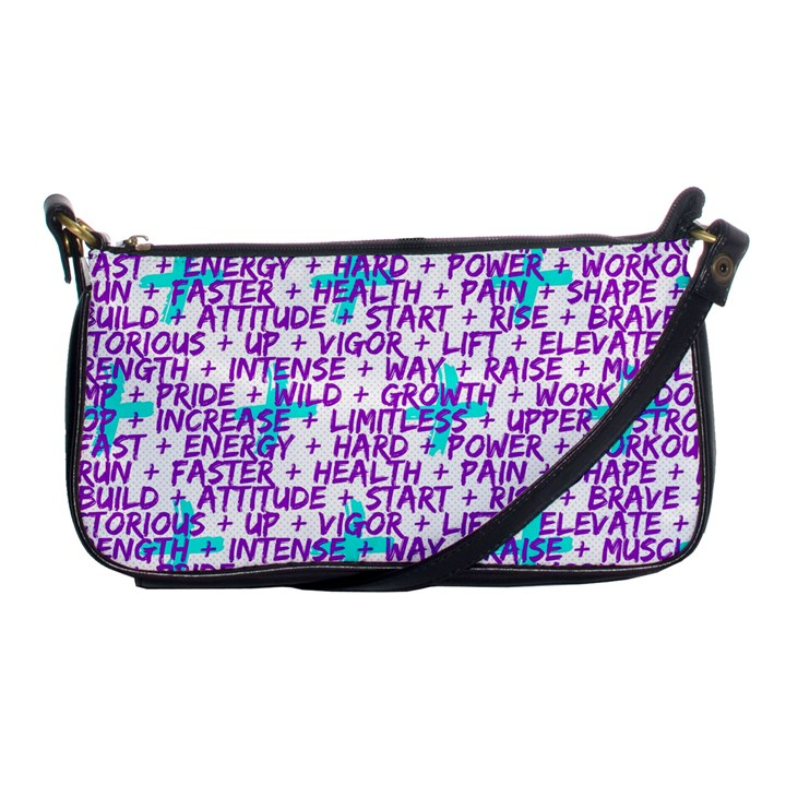 Hard Workout Shoulder Clutch Bags