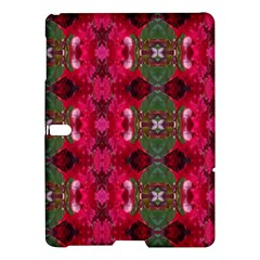 Christmas Colors Wrapping Paper Design Samsung Galaxy Tab S (10 5 ) Hardshell Case  by Fractalsandkaleidoscopes