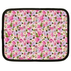 Gardenia Sweet Netbook Case (large) by jumpercat