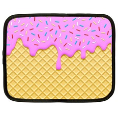 Strawberry Ice Cream Netbook Case (xxl)  by jumpercat