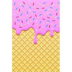 Strawberry Ice Cream 5 5  X 8 5  Notebooks by jumpercat