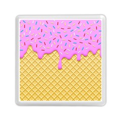 Strawberry Ice Cream Memory Card Reader (square)  by jumpercat