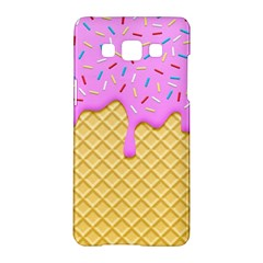 Strawberry Ice Cream Samsung Galaxy A5 Hardshell Case  by jumpercat