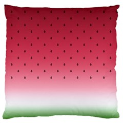 Watermelon Large Cushion Case (two Sides) by jumpercat