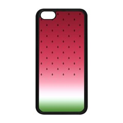 Watermelon Apple Iphone 5c Seamless Case (black) by jumpercat