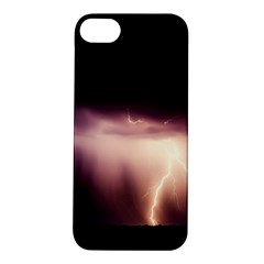 Storm Weather Lightning Bolt Apple Iphone 5s/ Se Hardshell Case