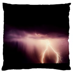 Storm Weather Lightning Bolt Standard Flano Cushion Case (one Side)