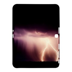 Storm Weather Lightning Bolt Samsung Galaxy Tab 4 (10 1 ) Hardshell Case  by BangZart