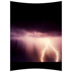 Storm Weather Lightning Bolt Back Support Cushion by BangZart