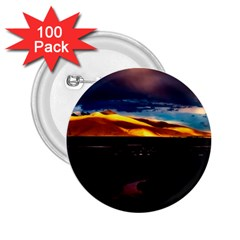 India Sunset Sky Clouds Mountains 2 25  Buttons (100 Pack)  by BangZart
