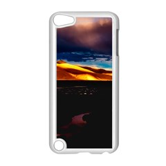 India Sunset Sky Clouds Mountains Apple Ipod Touch 5 Case (white) by BangZart
