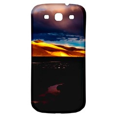 India Sunset Sky Clouds Mountains Samsung Galaxy S3 S Iii Classic Hardshell Back Case by BangZart