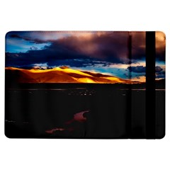 India Sunset Sky Clouds Mountains Ipad Air Flip by BangZart