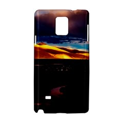 India Sunset Sky Clouds Mountains Samsung Galaxy Note 4 Hardshell Case
