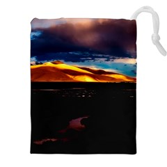 India Sunset Sky Clouds Mountains Drawstring Pouches (xxl) by BangZart