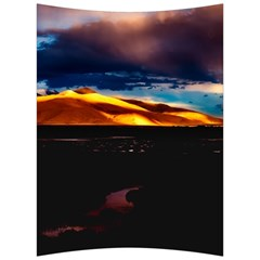 India Sunset Sky Clouds Mountains Back Support Cushion
