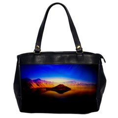 Crater Lake Oregon Mountains Office Handbags by BangZart
