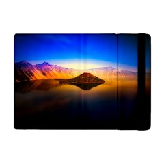 Crater Lake Oregon Mountains Apple Ipad Mini Flip Case by BangZart