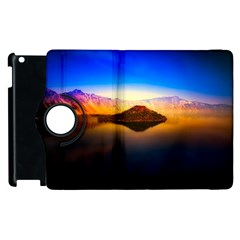 Crater Lake Oregon Mountains Apple Ipad 2 Flip 360 Case